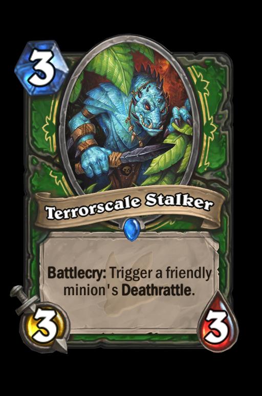 Terrorscale Stalker Hearthstone kártya