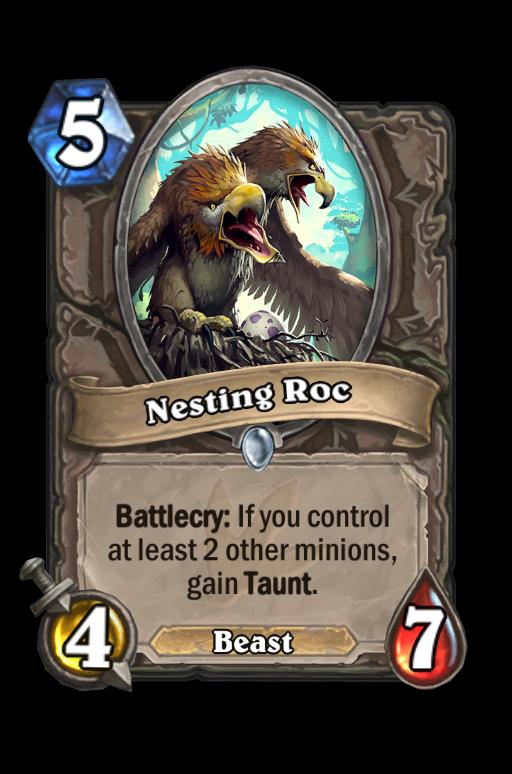 Nesting Roc Hearthstone kártya