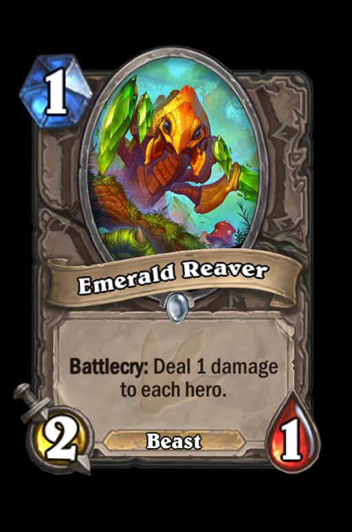 Emerald ReaverHearthstone kártya