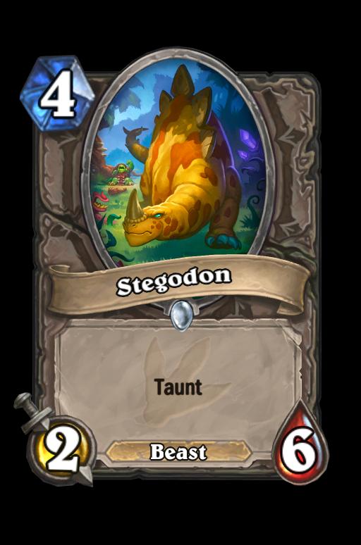 Stegodon Hearthstone kártya