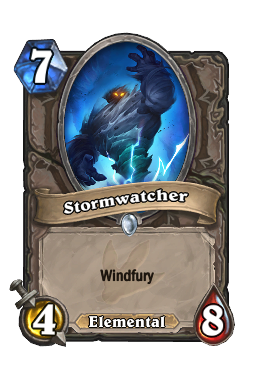 Stormwatcher Hearthstone kártya