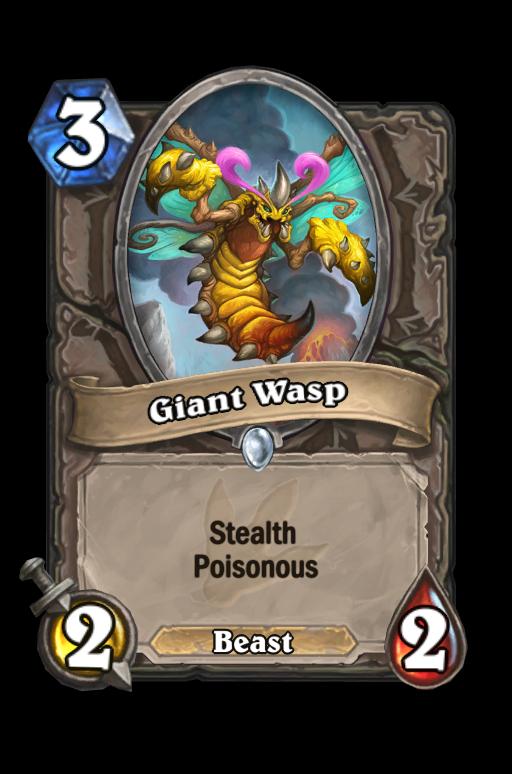Giant Wasp Hearthstone kártya