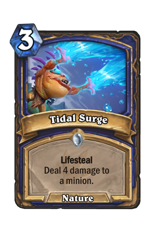 Tidal Surge Hearthstone kártya