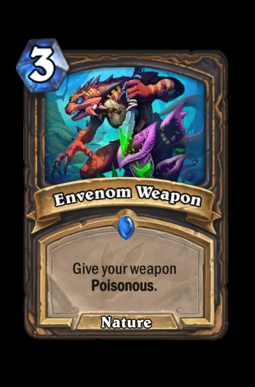 Envenom Weapon Hearthstone kártya