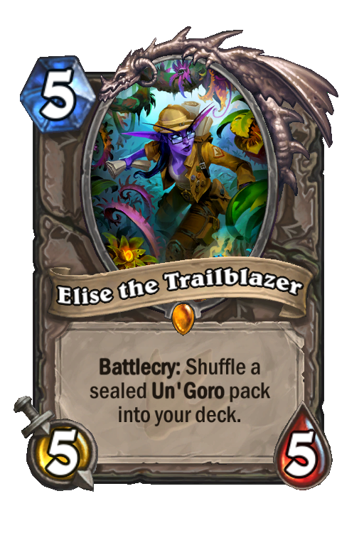 Elise the Trailblazer Hearthstone kártya