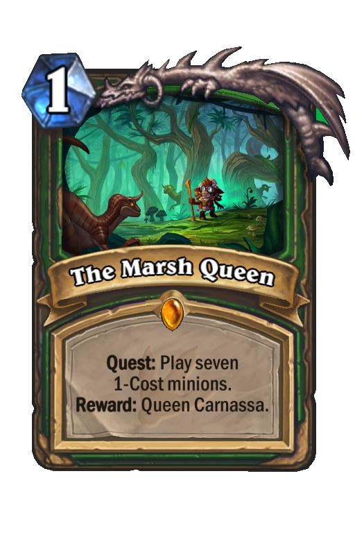 The Marsh Queen Hearthstone kártya