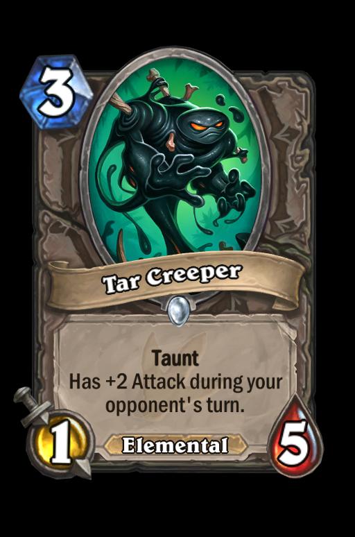 Tar Creeper Hearthstone kártya