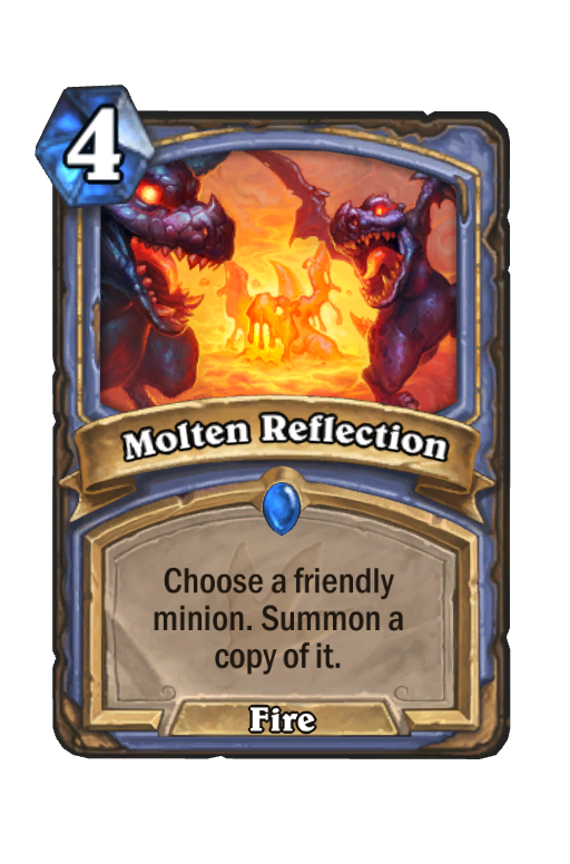 Molten Reflection Hearthstone kártya