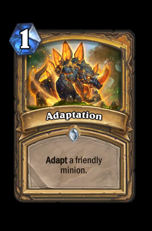 Adaptation Hearthstone kártya