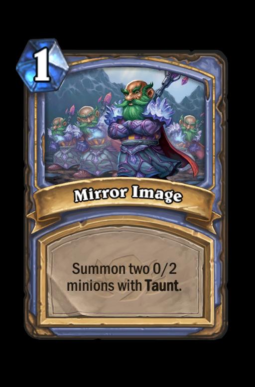 Mirror Image Hearthstone kártya