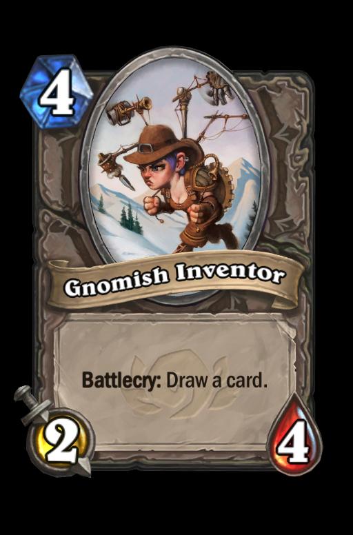 Gnomish Inventor Hearthstone kártya