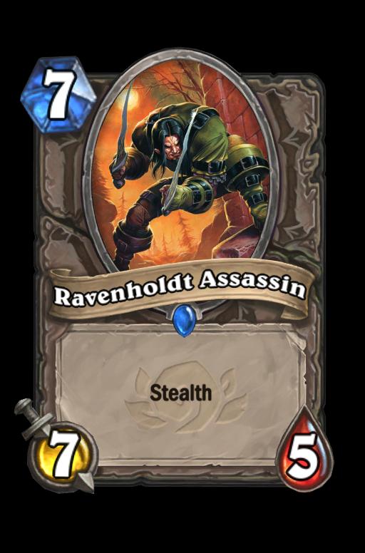 Ravenholdt Assassin Hearthstone kártya