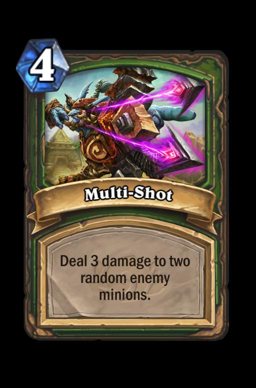 Multi-Shot Hearthstone kártya