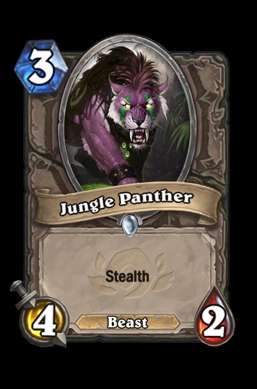 Jungle Panther Hearthstone kártya