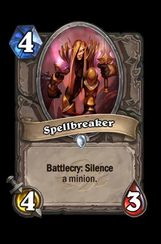 Spellbreaker Hearthstone kártya
