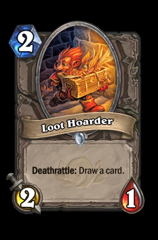 Loot Hoarder Hearthstone kártya