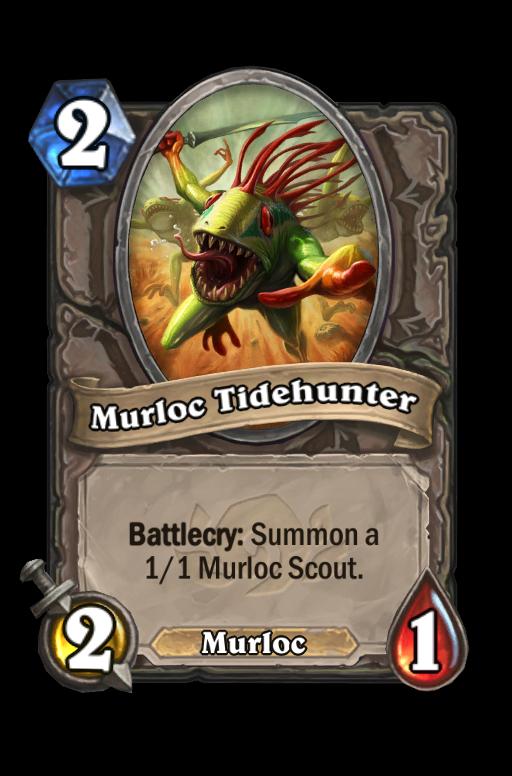 Murloc Tidehunter Hearthstone kártya