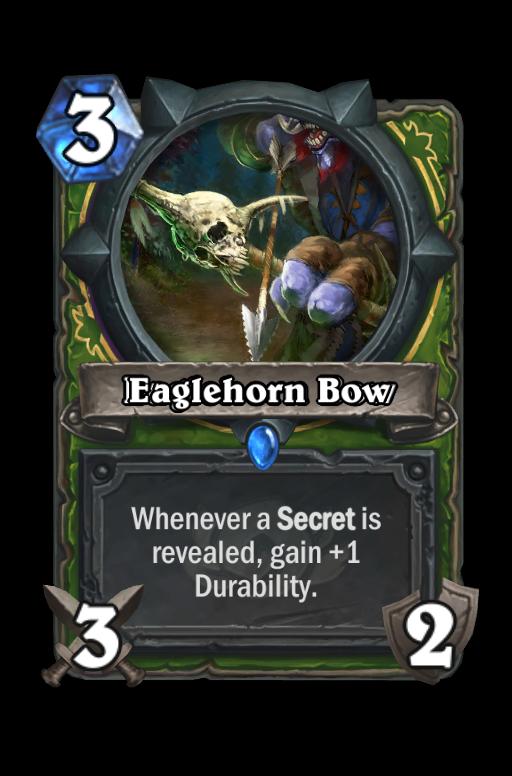 Eaglehorn Bow Hearthstone kártya