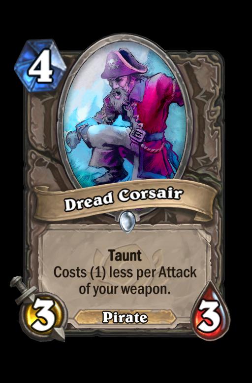Dread Corsair Hearthstone kártya