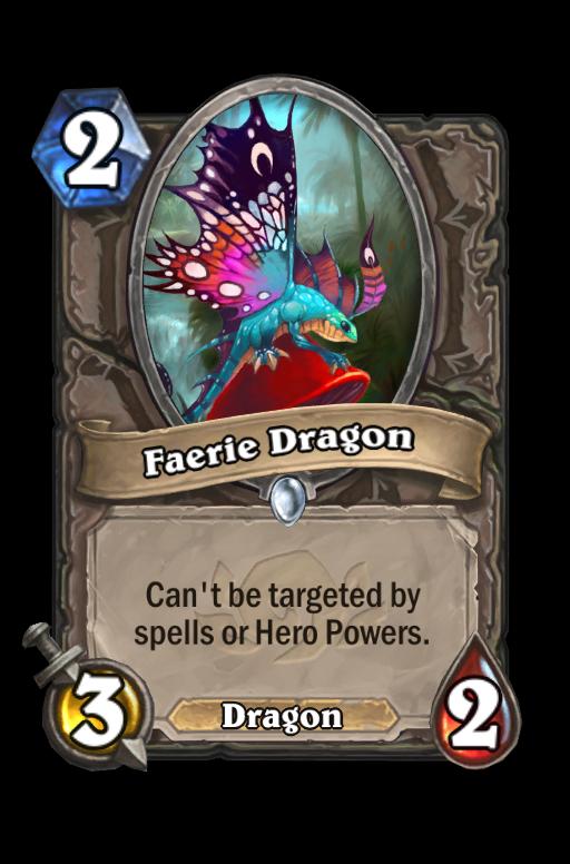Faerie Dragon Hearthstone kártya