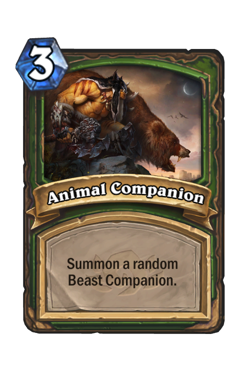 Animal Companion Hearthstone kártya