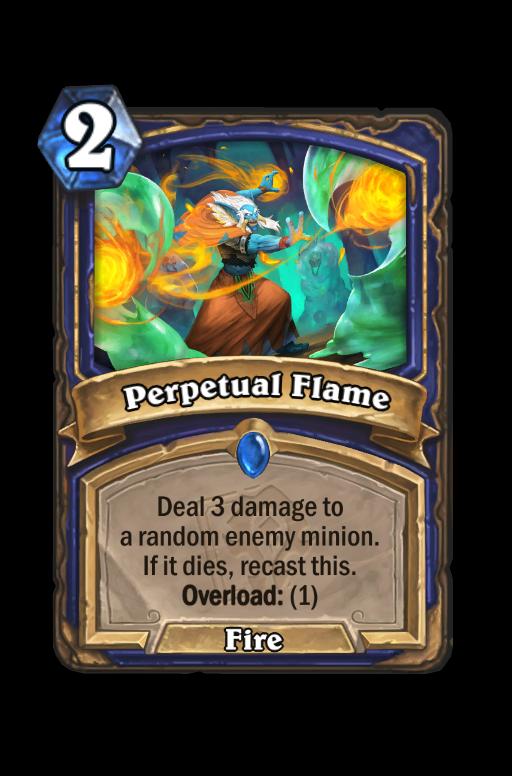 Perpetual Flame Hearthstone kártya