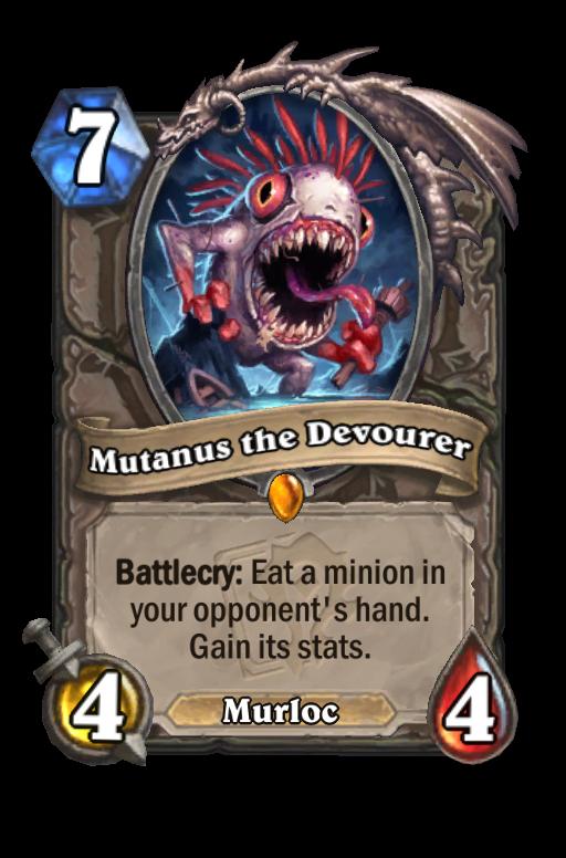 Mutanus the Devourer Hearthstone kártya