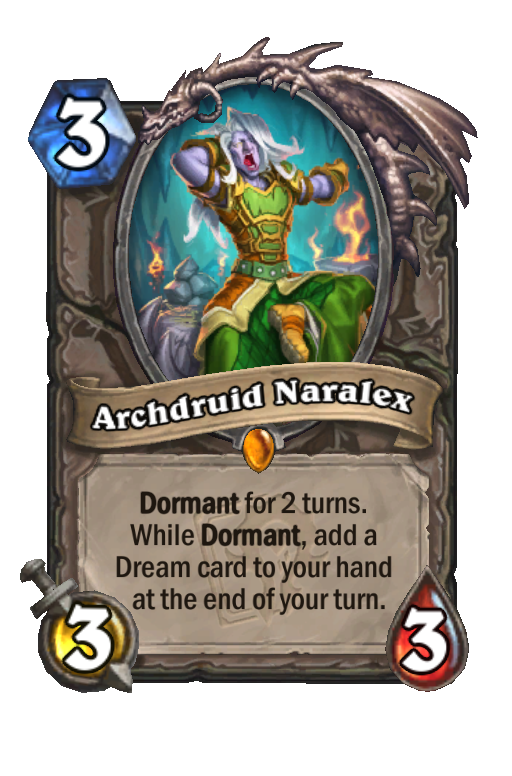 Archdruid Naralex Hearthstone kártya