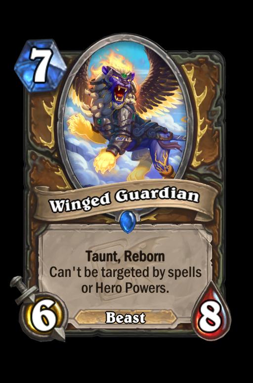 Winged Guardian Hearthstone kártya