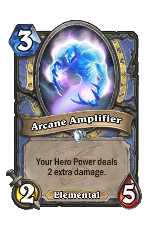 Arcane Amplifier Hearthstone kártya