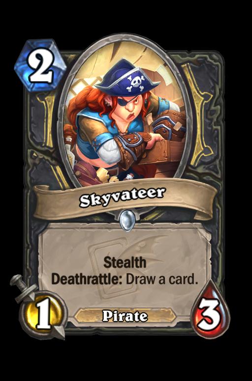 Skyvateer Hearthstone kártya
