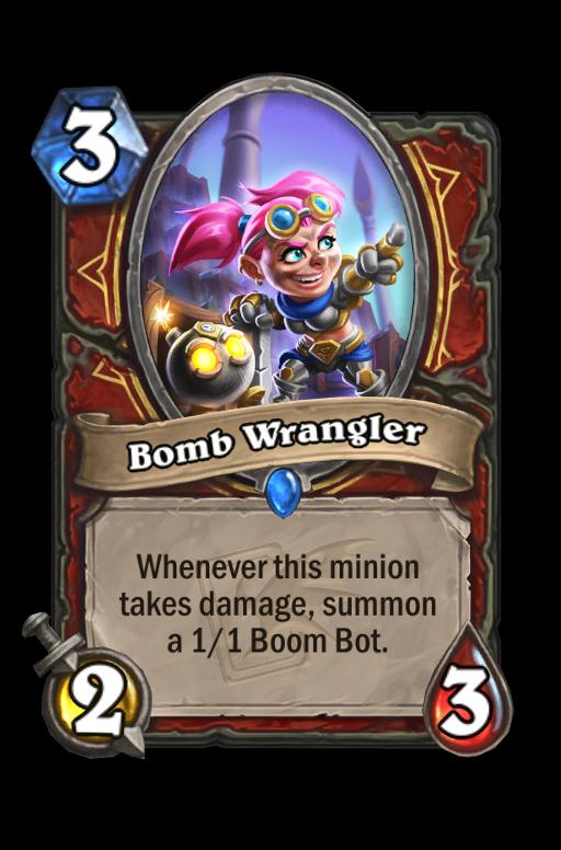 Bomb Wrangler Hearthstone kártya