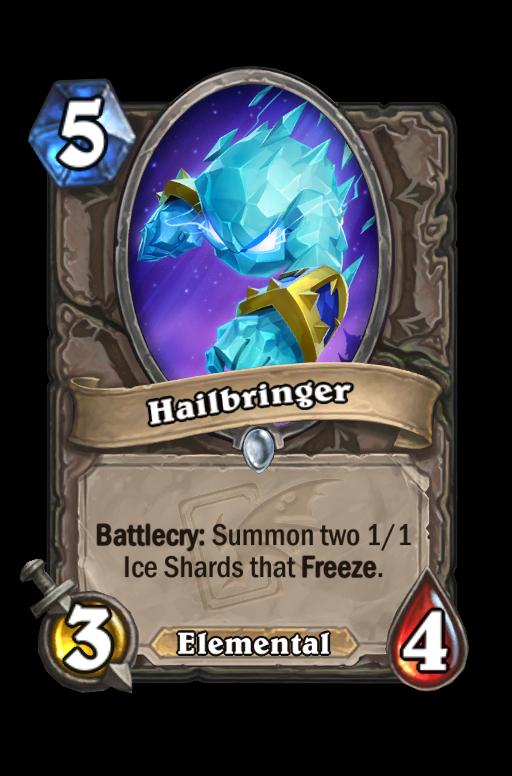 Hailbringer Hearthstone kártya