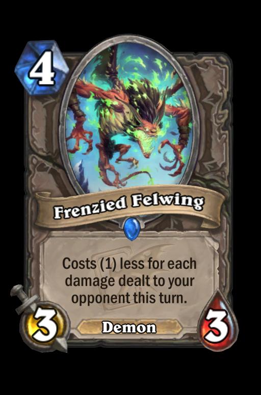 Frenzied Felwing Hearthstone kártya