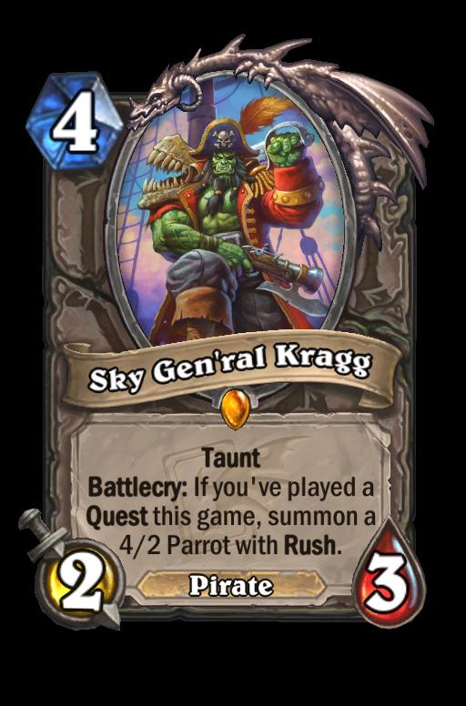 Sky Gen'ral Kragg Hearthstone kártya