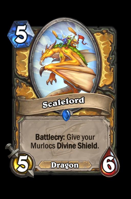 Scalelord Hearthstone kártya