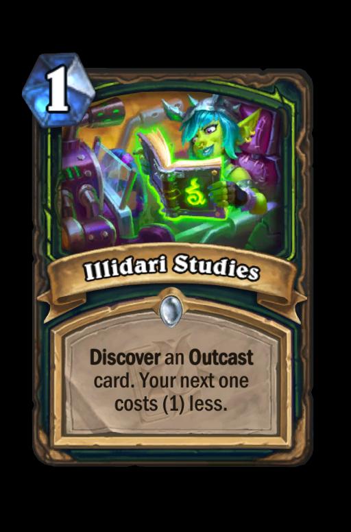 Illidari Studies Hearthstone kártya
