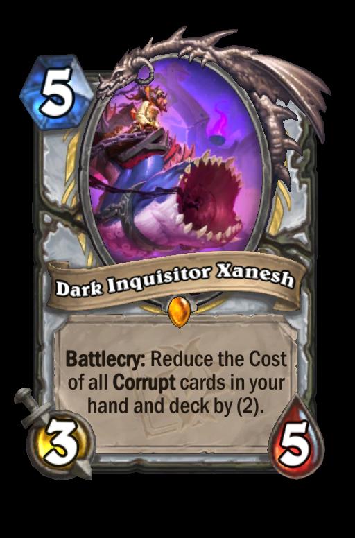 Dark Inquisitor Xanesh Hearthstone kártya