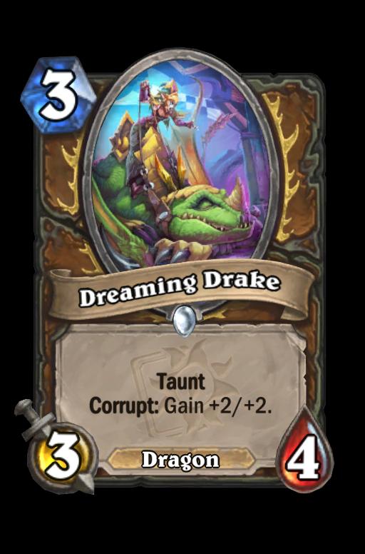 Dreaming Drake Hearthstone kártya