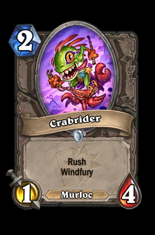 Crabrider Hearthstone kártya
