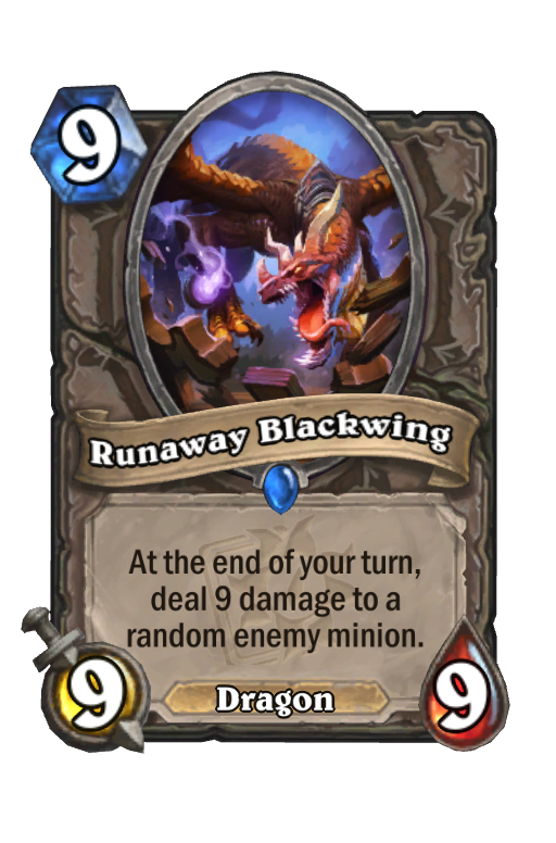 Runaway Blackwing Hearthstone kártya