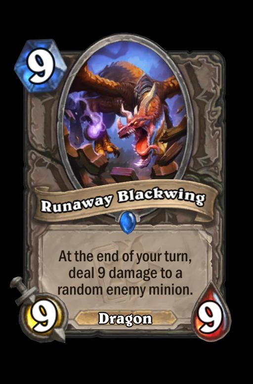 Runaway Blackwing Hearthstone kártya