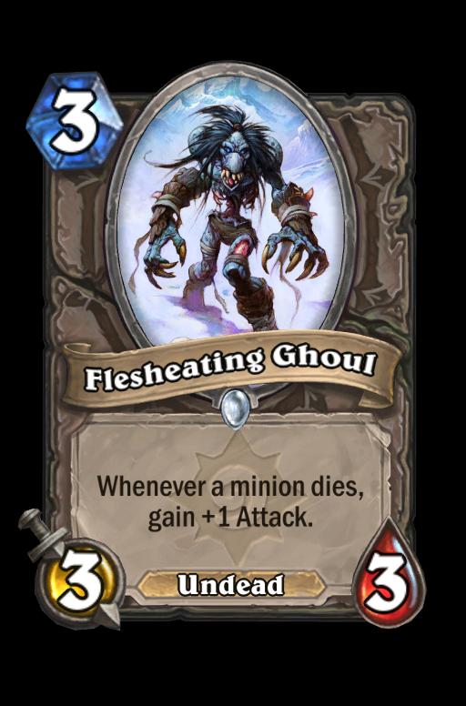 Flesheating Ghoul Hearthstone kártya