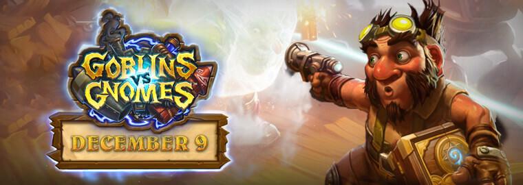 December 9-én jelenik meg a Goblins vs Gnomes kiegészítő