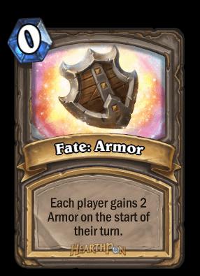 fate armor kártya