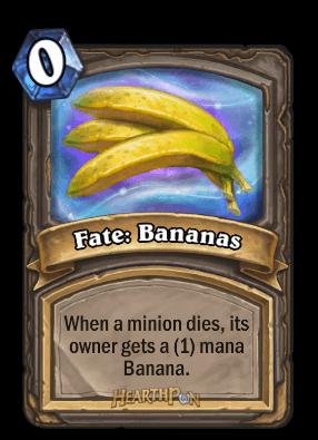 fate bananas kártya