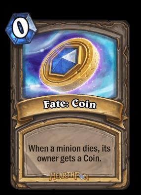 fate coin kártya