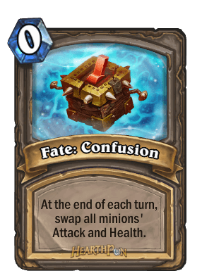 fate confusion kártya