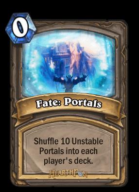 fate portals kártya