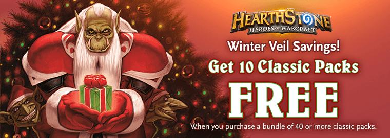Karácsonyi Hearthstone ajánlat